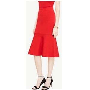 Ann Taylor Skirts - Ann Taylor flare flounce skirt